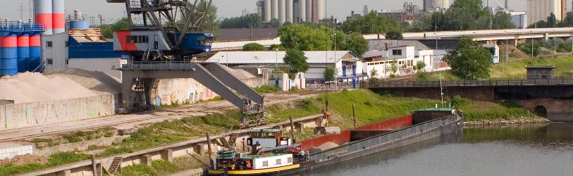 TBS Transportbeton Werk Mannheim Hafen
